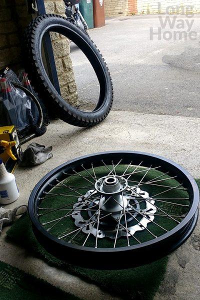 Pierwsza wymiana opon - First tire change