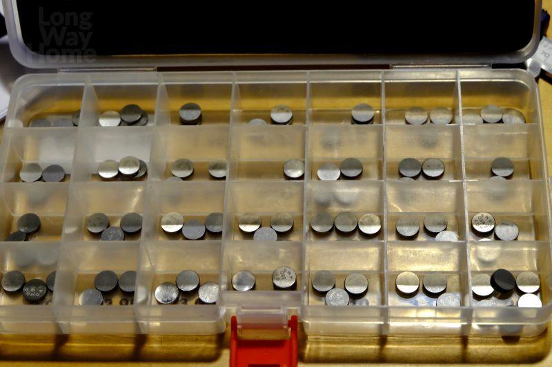 Zestaw płytek regulacyjnych - Shim plates set