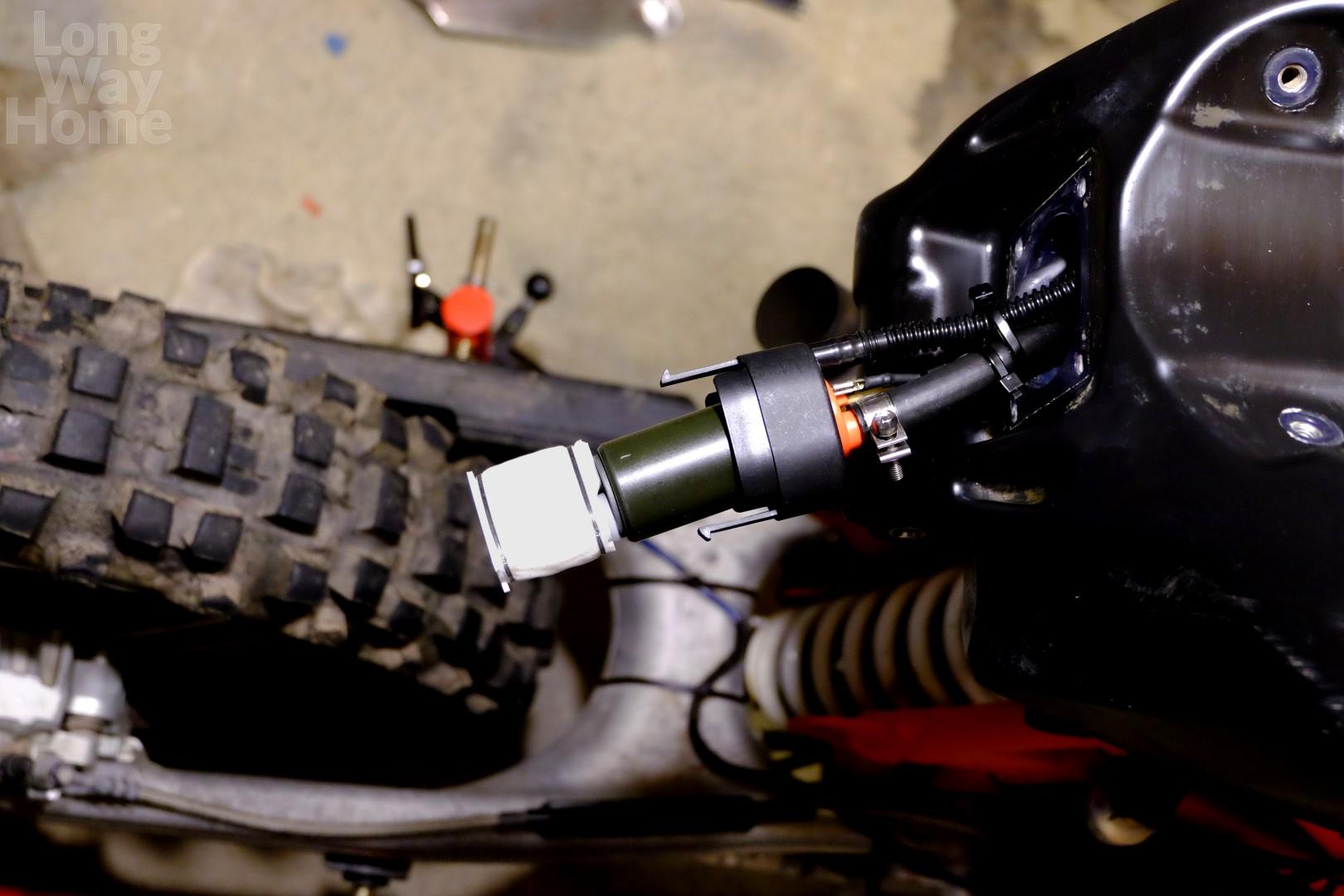 Long Way Home - Workshop - KTM 690 Enduro - Fuel pump update