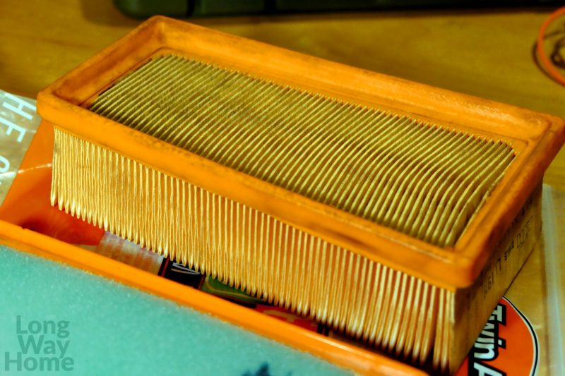 Oryginalny filtr powietrza KTM - Genuine KTM air filter
