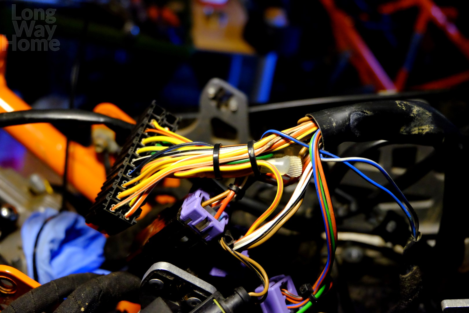 Long Way Home - Workshop - KTM 690 Enduro - Wire harness Which Wiring Is Suitable For Workshop on