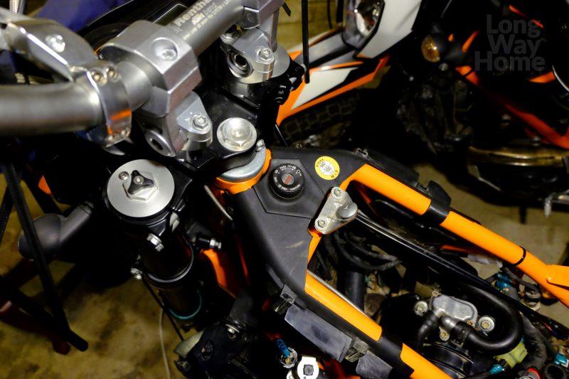 Motocykl jeszcze przedzmianą - Motorcycle just before change