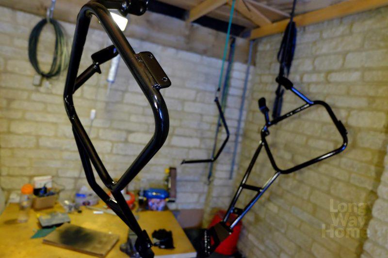 Suszenie poskończonym malowaniu - Drying after rack has been painted