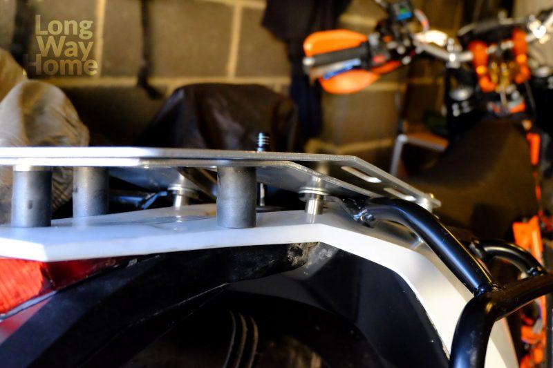 Wzmocniona płyta bagażowa - Reinforced luggage plate