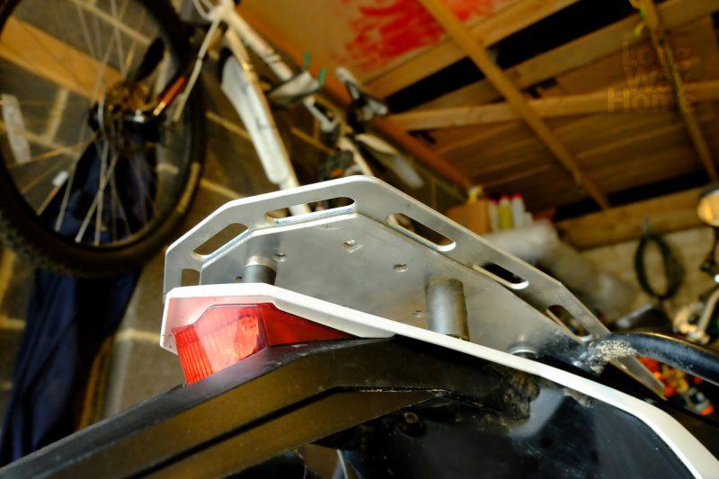 Wzmocniona płyta bagażowa - Reinforced luggage plate - DIY