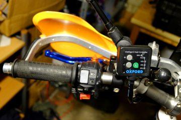 Podgrzewane manetki Oxford na KTM 690 Enduro - Oxford heated grips on KTM 690 Enduro - 2